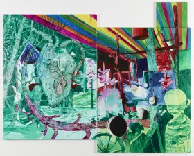 La Morte, Schhh, 240 x 300 cm