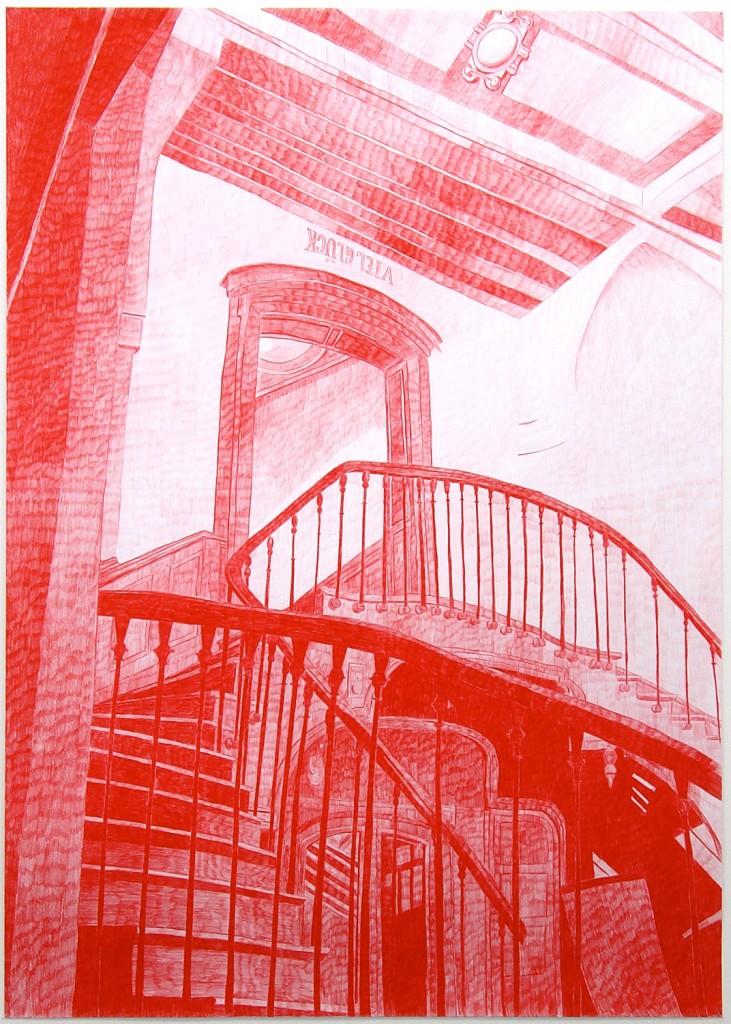 The Staircase (Viel Glück)